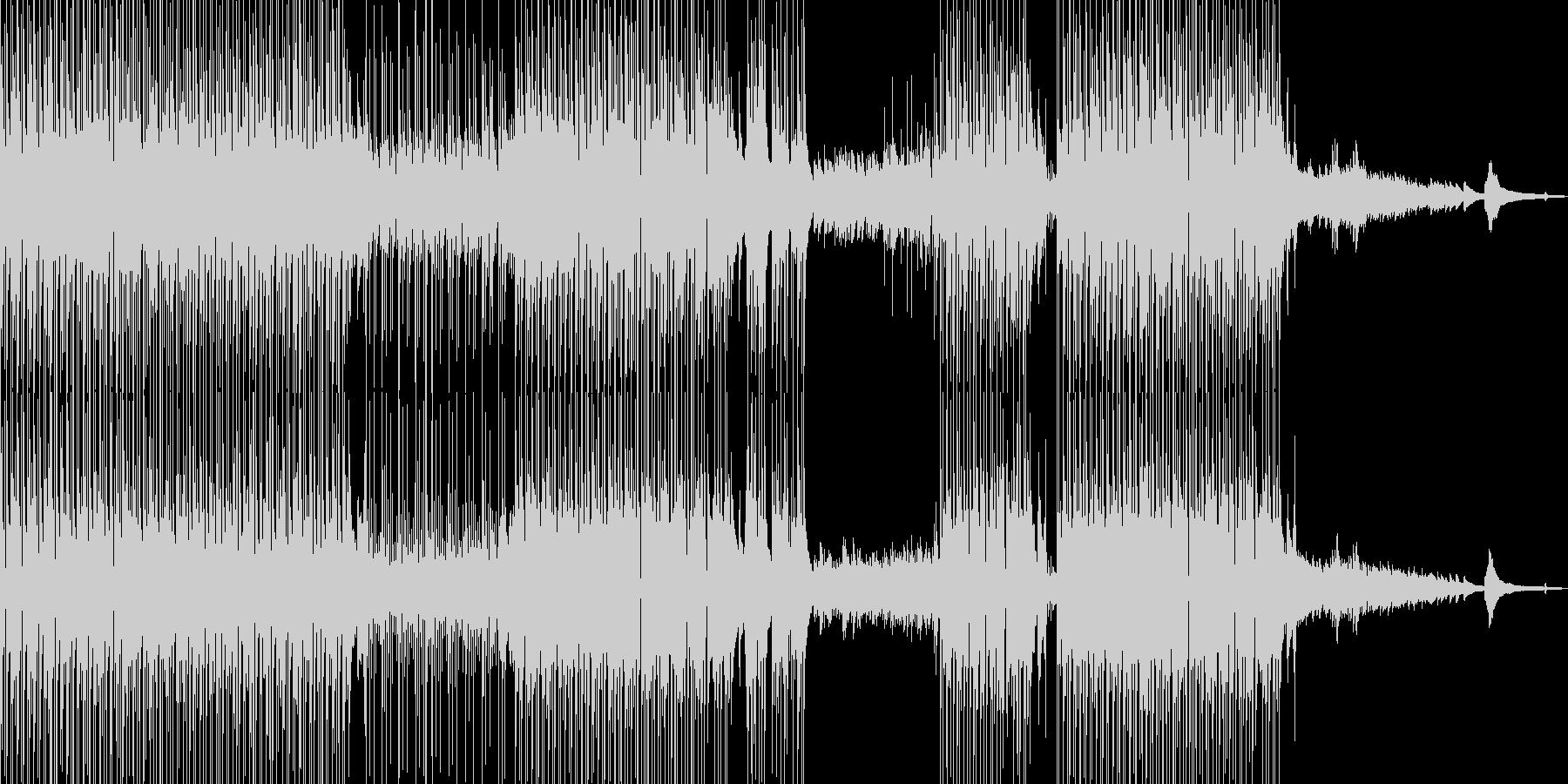 ギター・涼しげなポップス 打楽器・短尺★の未再生の波形