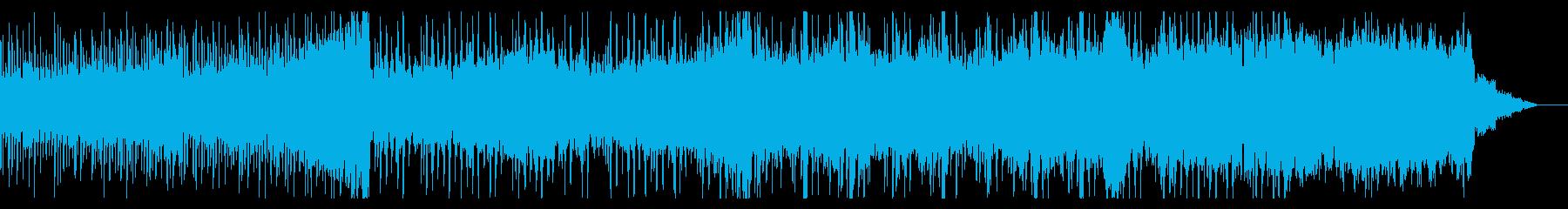エレクトリックで幻想的なIDMの再生済みの波形