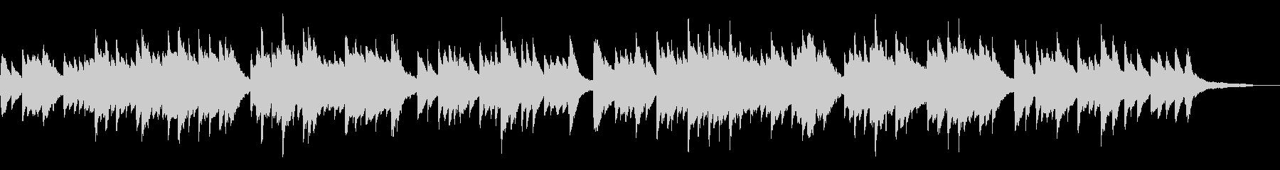 古歌「さくらさくら」シンプルなピアノソロの未再生の波形