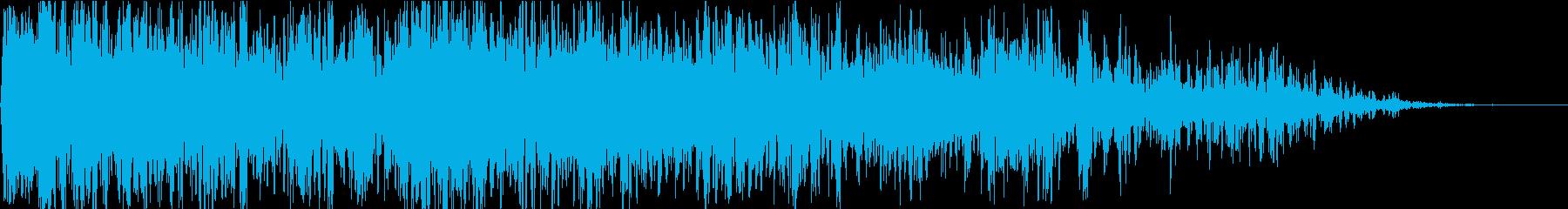 雷06の再生済みの波形