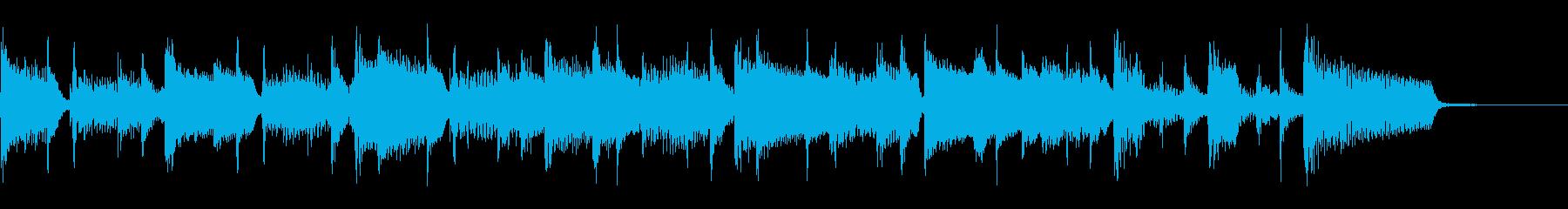 2つ、速いテンポ、リズムギターまた...の再生済みの波形