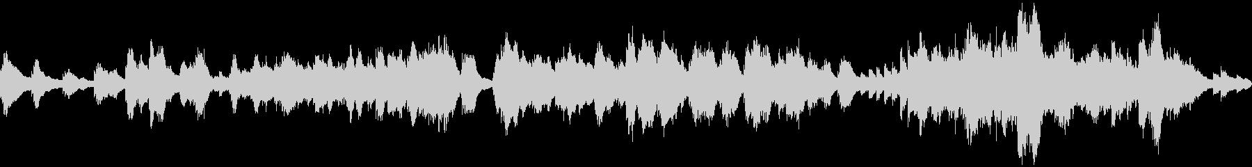 神秘的・幻想的な アンビエントピアノソロの未再生の波形
