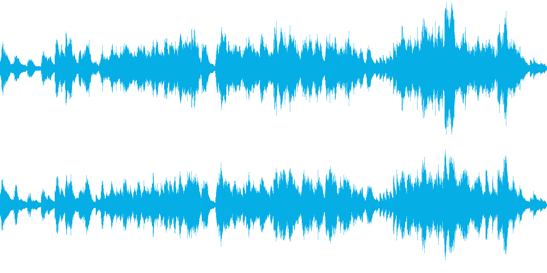 深い森・ダンジョンのBGM風 ピアノソロの再生済みの波形