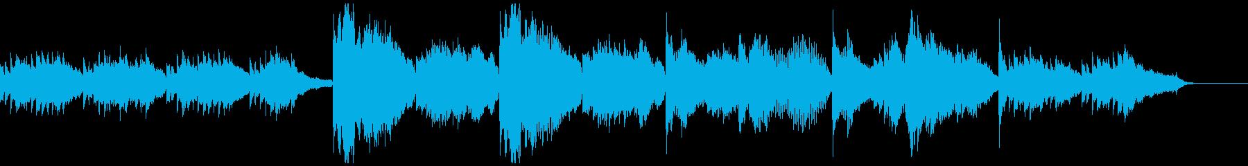 ヒーリング、心が落ち着くBGM Halfの再生済みの波形