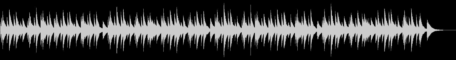 アメイジング・グレイス 72弁オルゴールの未再生の波形