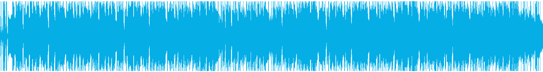 【ループ対応s】大人雰囲気ブルースギターの再生済みの波形