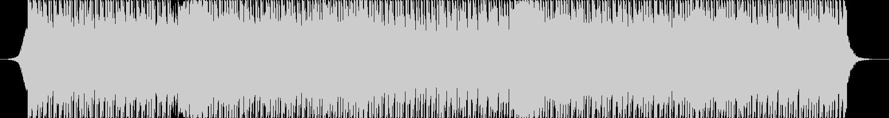 明るいアップテンポのシンセブラスロックの未再生の波形