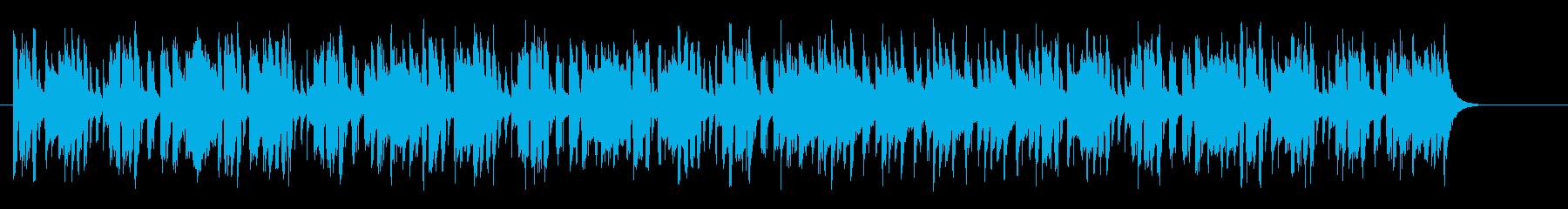 南国カリブのほのぼのミュージックの再生済みの波形