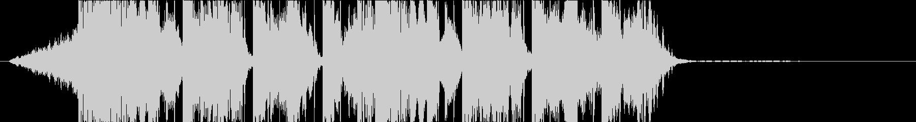 DUBSTEP クール ジングル150の未再生の波形