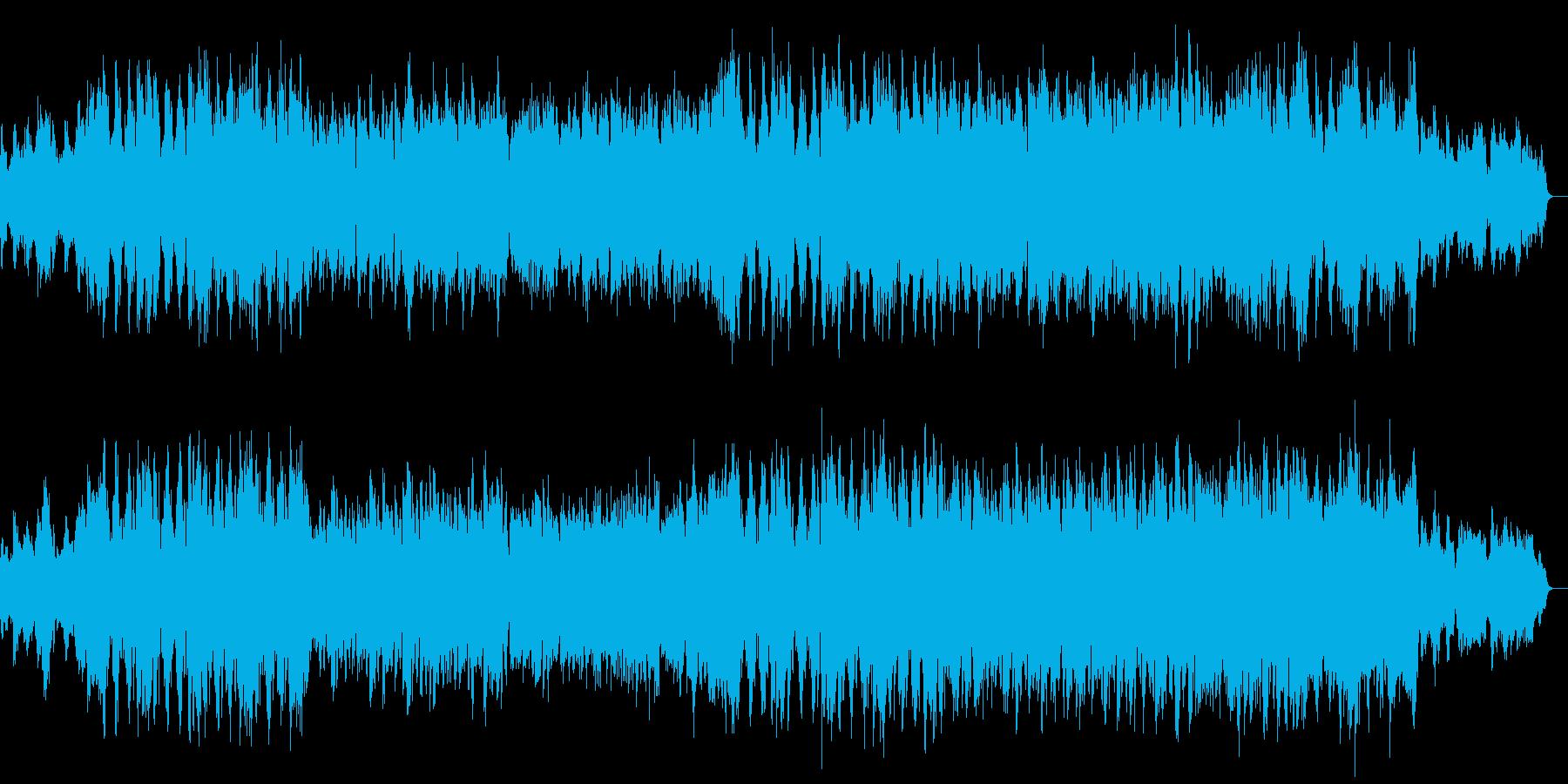 前向きで勇敢なハリウッド風管弦楽曲の再生済みの波形