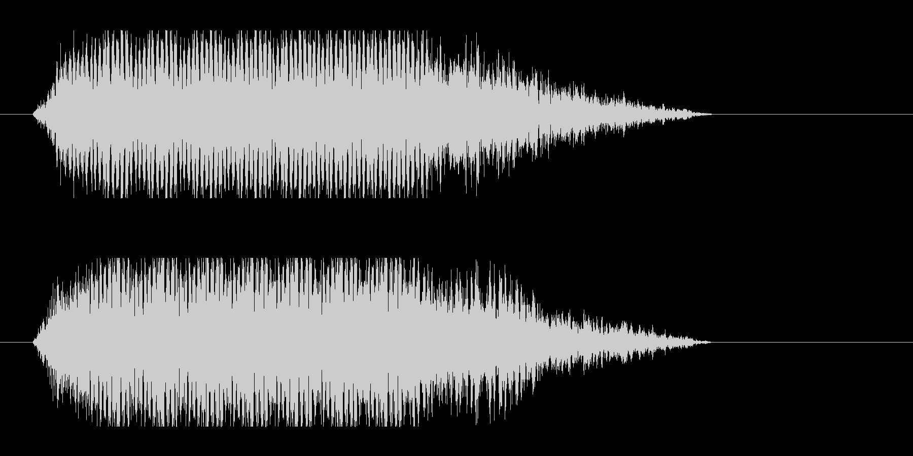 レーザー音-51-3の未再生の波形