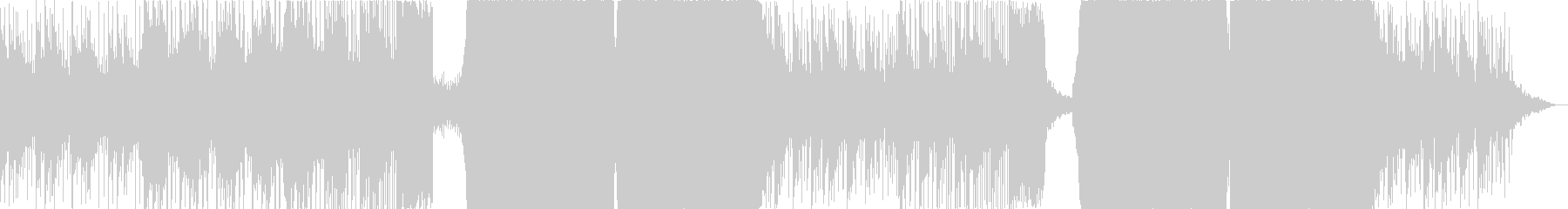 Liquid Dubstep新FULLの未再生の波形