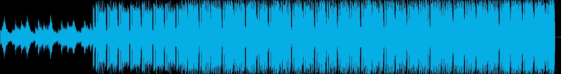 ファンタジーなシンセポップテクノ系の再生済みの波形