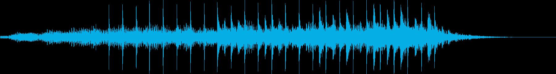 幻想的ミステリアスオープニングジングルの再生済みの波形
