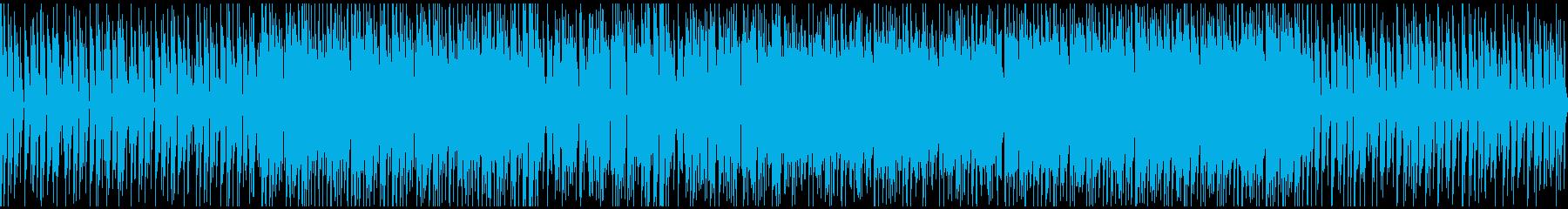 メロディが弾むカジュアルなハウスの再生済みの波形