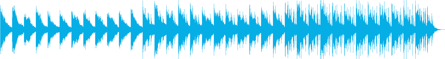 ピアノが響く不思議な森に迷い込むの再生済みの波形