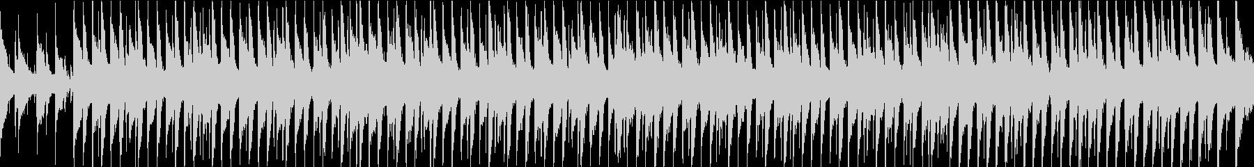 シンプル/明るい/楽しい/ポップ/ループの未再生の波形