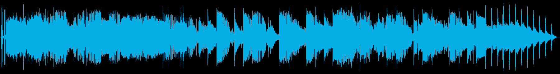 サイバーDJの再生済みの波形