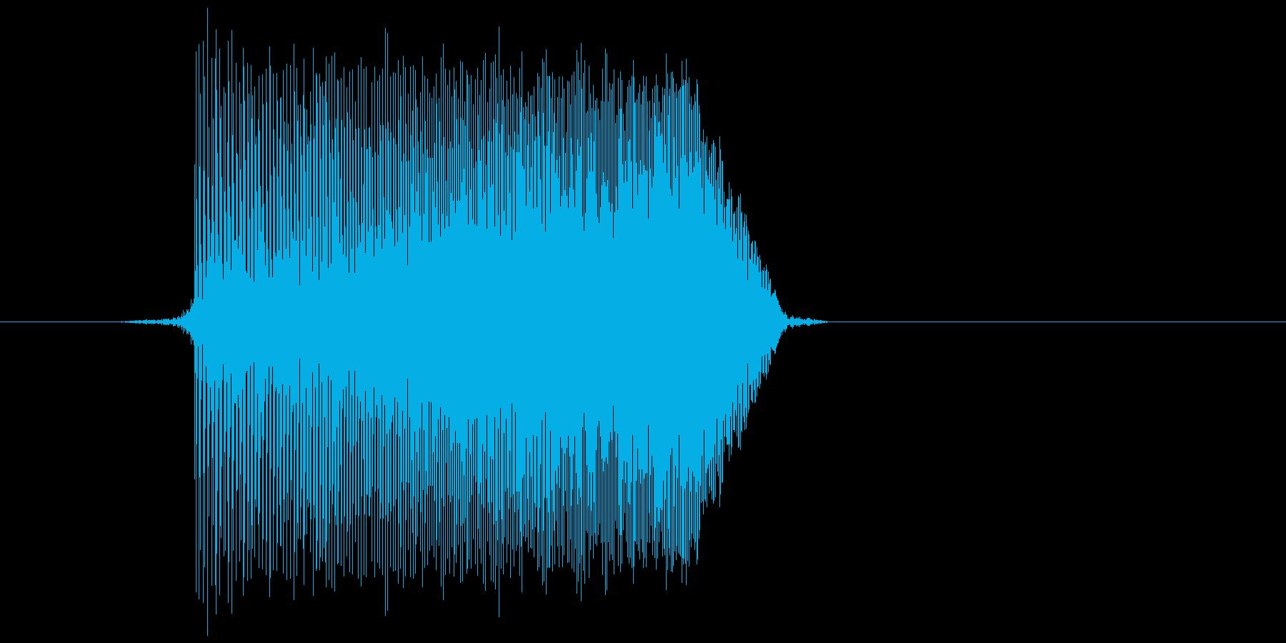 ゲーム(ファミコン風)ジャンプ音_049の再生済みの波形