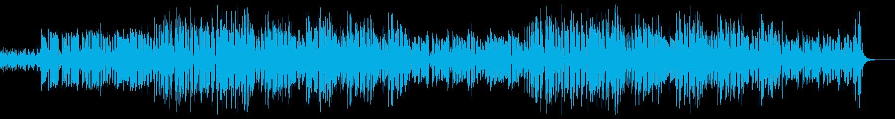 昭和歌謡風ポップス コミカル元気カラオケの再生済みの波形