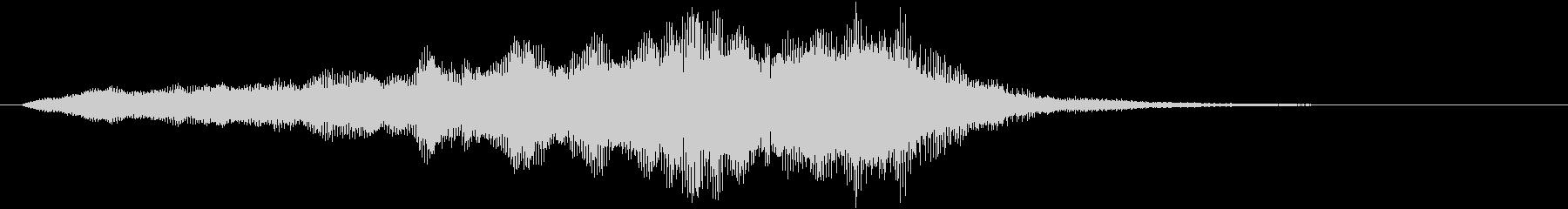 中世 ジングルオーケストラニュート...の未再生の波形