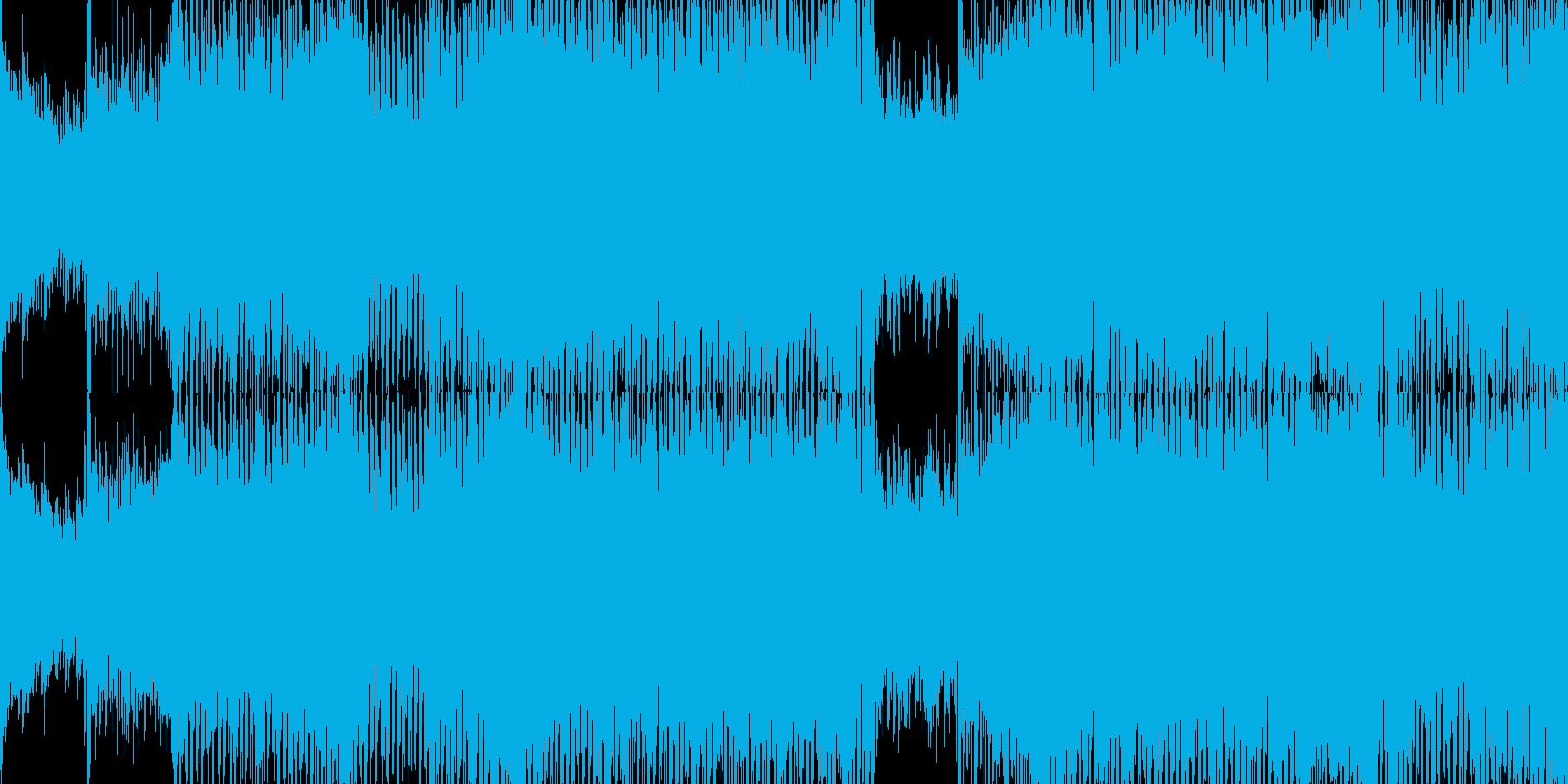 【ループ】美しいメロディの和風トランスの再生済みの波形