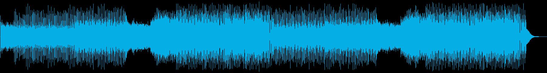 EDM 疾走感・スタイリッシュの再生済みの波形