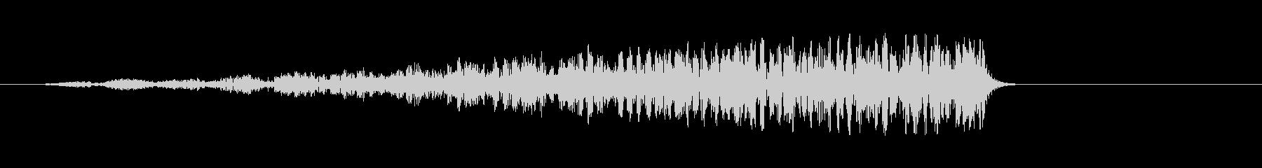 ディープリバースバズドローンの未再生の波形