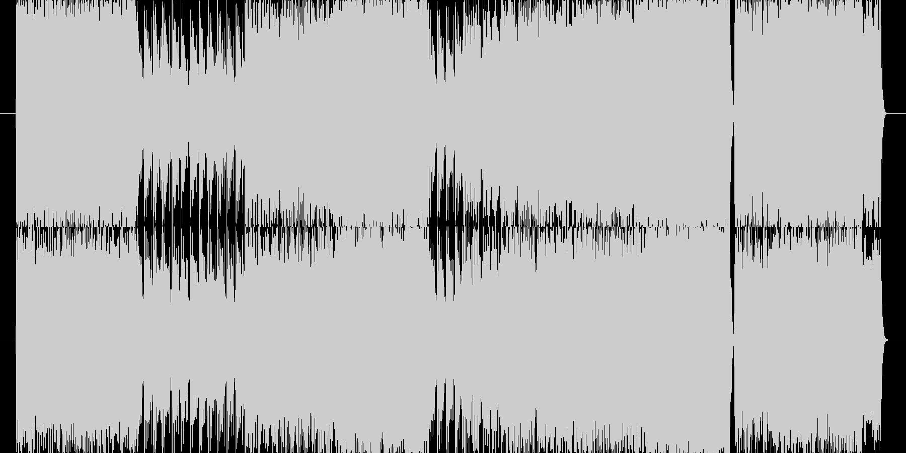 映画のBGMをイメージしました。の未再生の波形