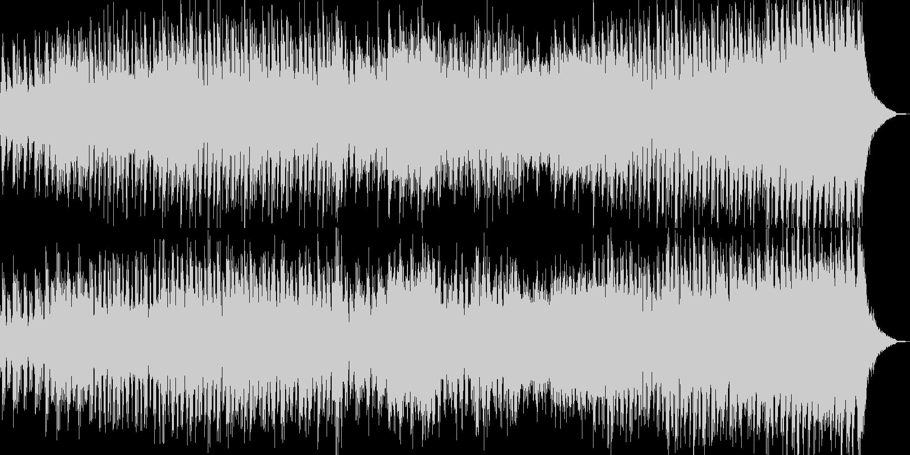 懐かしい景色が浮かぶレトロなBGMの未再生の波形