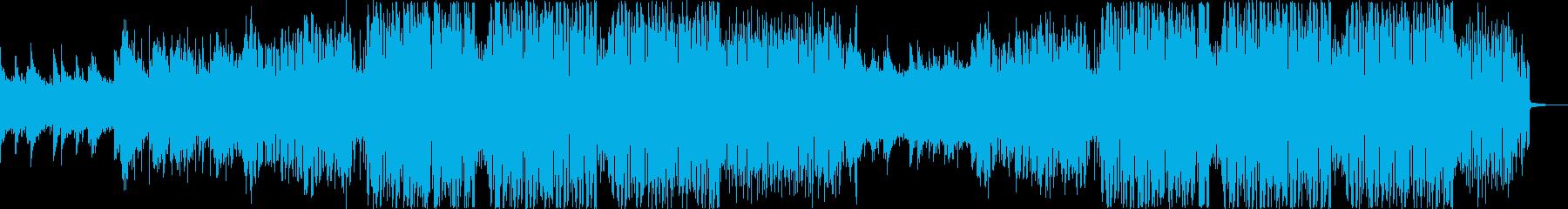 オシャレで跳ねるようなフューチャーバウンの再生済みの波形