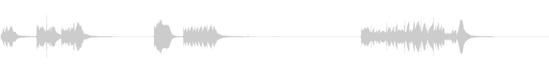 電子武器:右、レーザー、SCI F...の未再生の波形