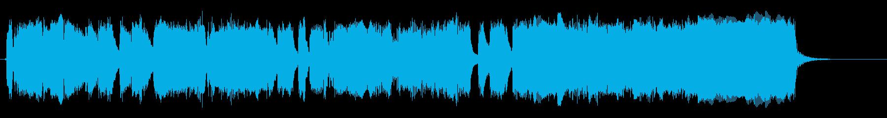 エレクトリックギター:ミディアムブ...の再生済みの波形