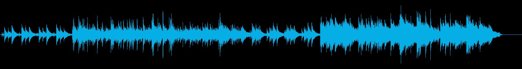しっとり系ピアノソロの再生済みの波形