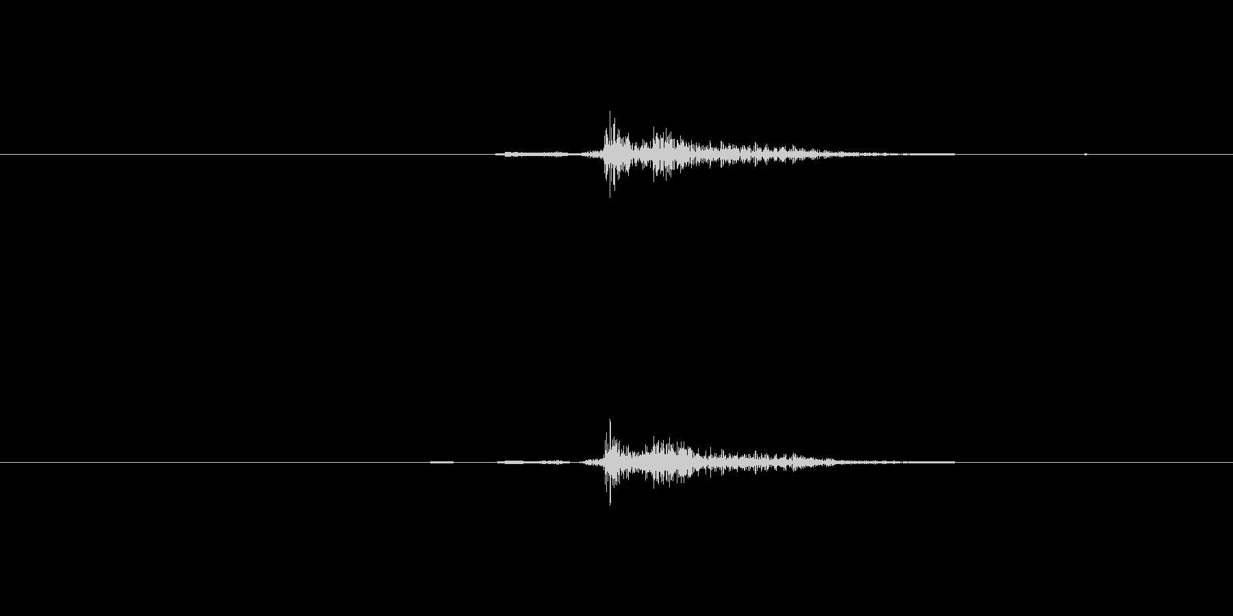カーソル移動(ゲーム色強め)の未再生の波形