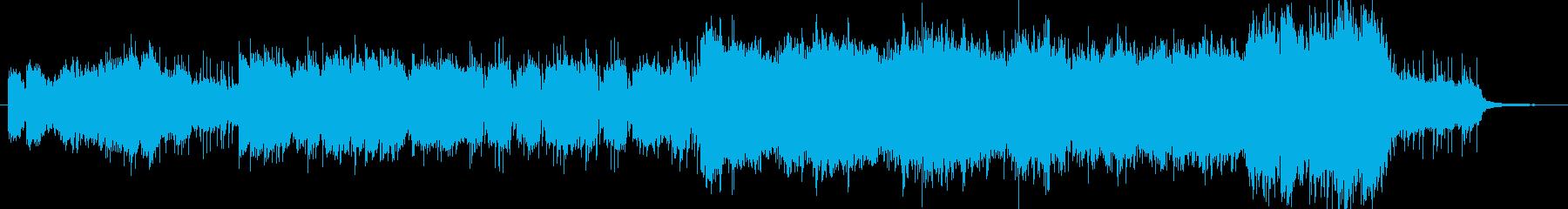 メタルでカッコいい楽曲です。の再生済みの波形