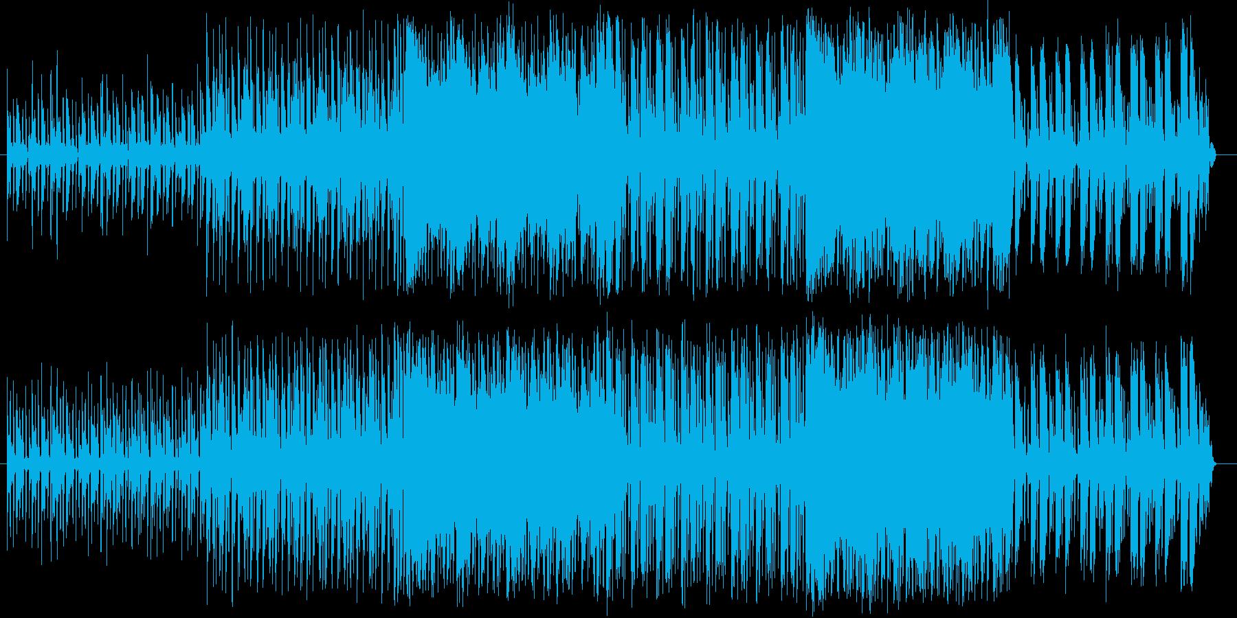 緊張、躍動、ドキュメント、スリル、追跡の再生済みの波形