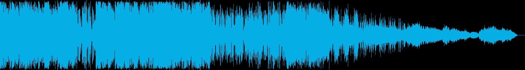 BGM_サイバーバトルの再生済みの波形