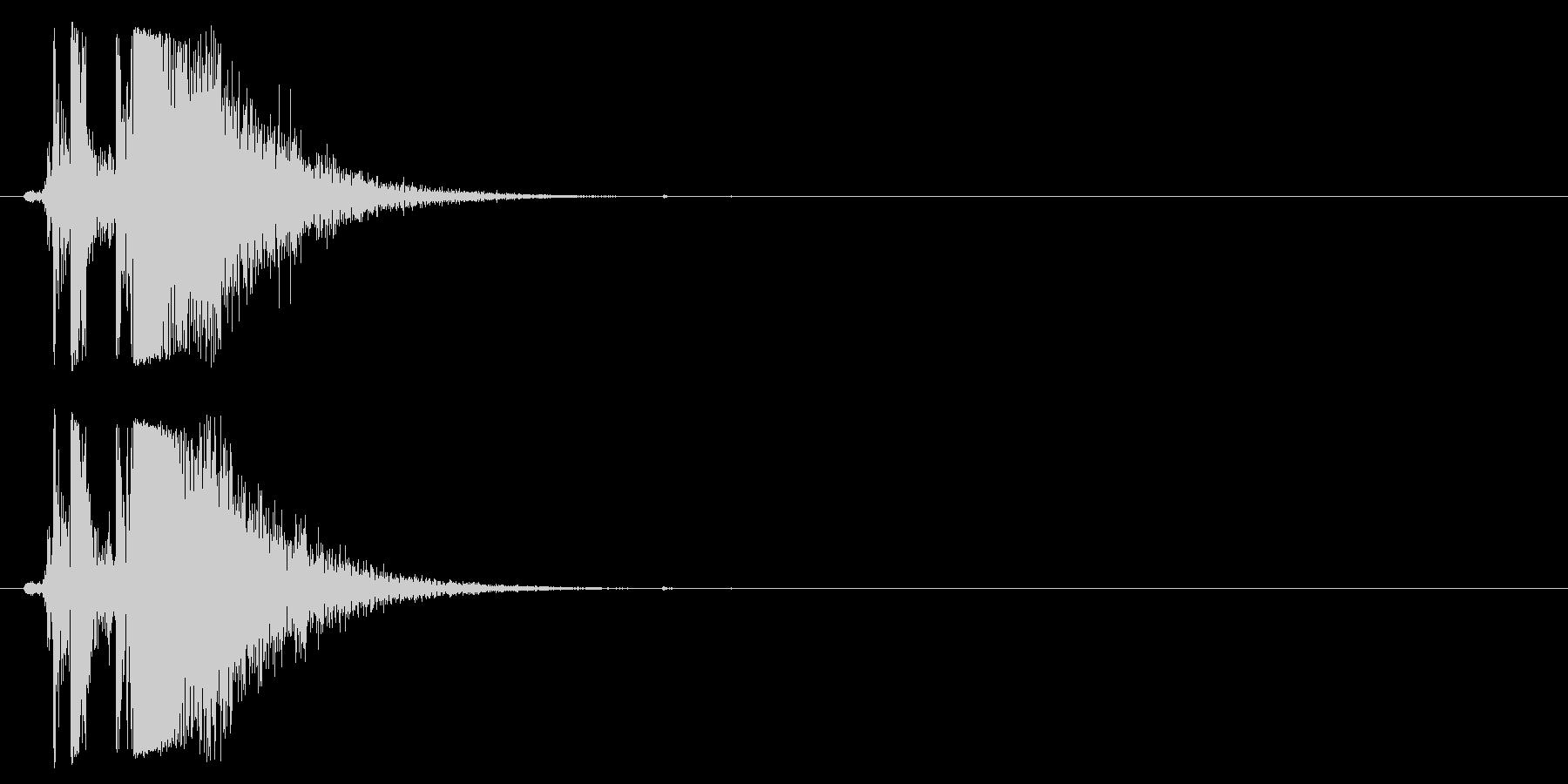 ヘックラー&コッホMP5 K、サブ...の未再生の波形