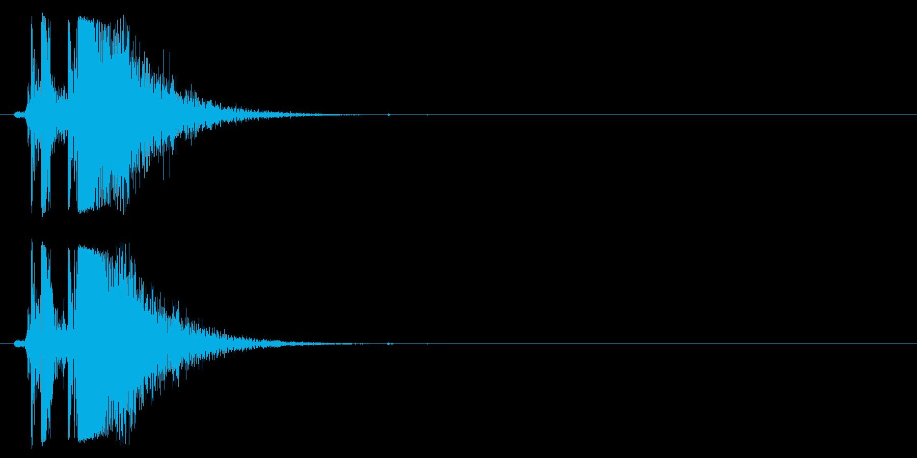 ヘックラー&コッホMP5 K、サブ...の再生済みの波形