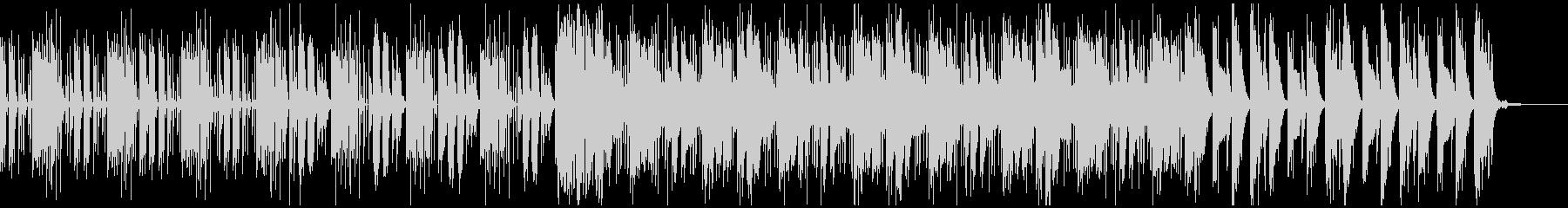 スリリングなシーンに適した電子音楽の未再生の波形