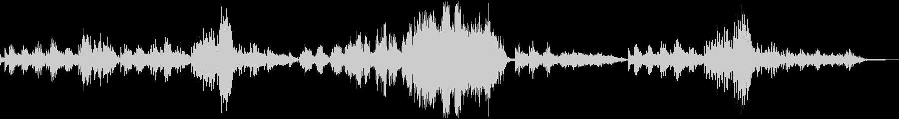 ショパンの練習曲作品10-3 別れの曲の未再生の波形