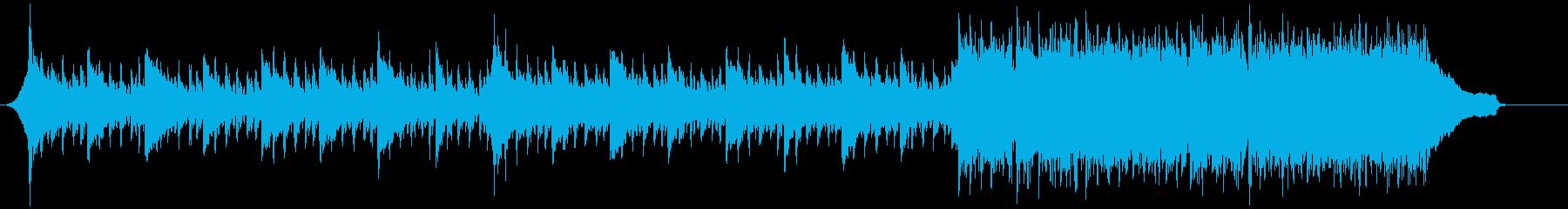 企業VP映像、141オーケストラ、爽快bの再生済みの波形