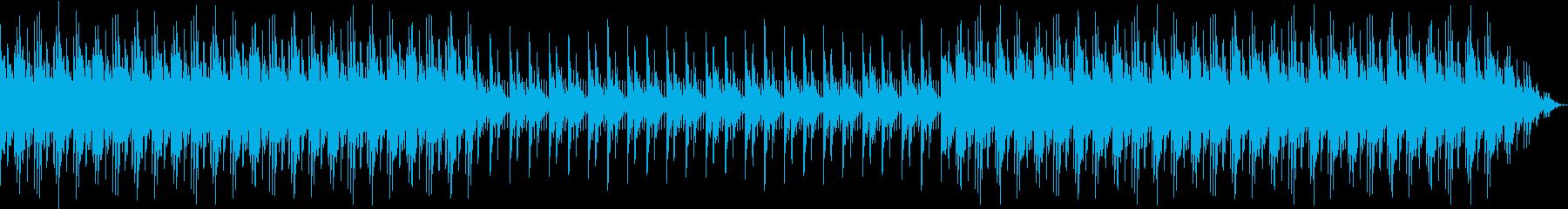 琴 和風 お洒落 メロディアスの再生済みの波形