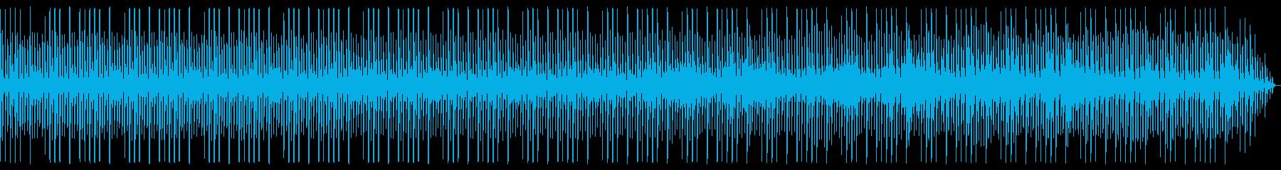 近未来 電子音 テクノ 明るめの再生済みの波形