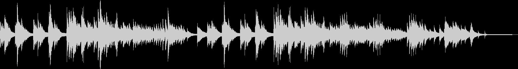 ジブリ風の幻想的なピアノバラードの未再生の波形