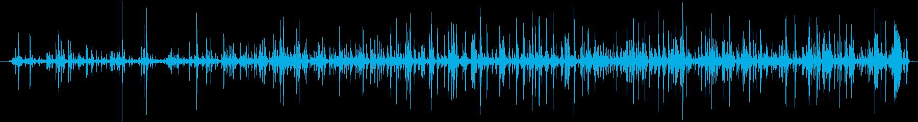 ルースメタルホイールクランク:ター...の再生済みの波形