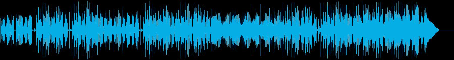 コミカルで素朴な日常 アコースティックの再生済みの波形