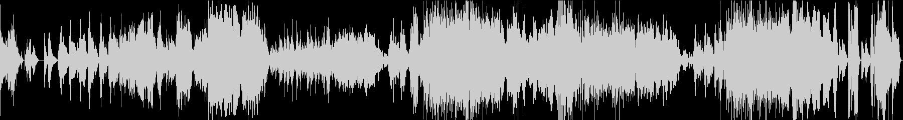 バラード第1番/ショパン・アコギの未再生の波形