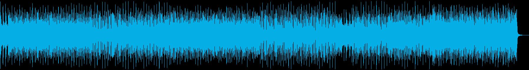 可愛い軽快なフューチャーポップの再生済みの波形